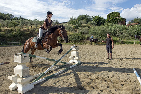 Riding centre in Italy